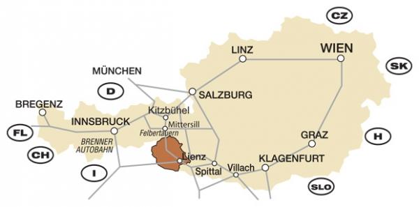 innsbruck richtung bregenz